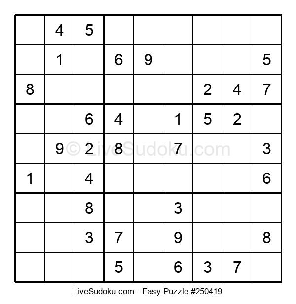Beginners Puzzle #250419