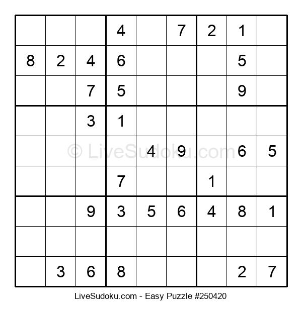 Beginners Puzzle #250420