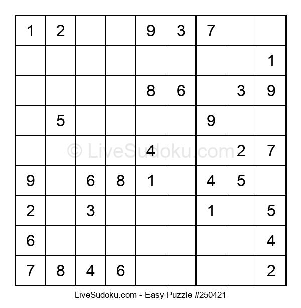 Beginners Puzzle #250421