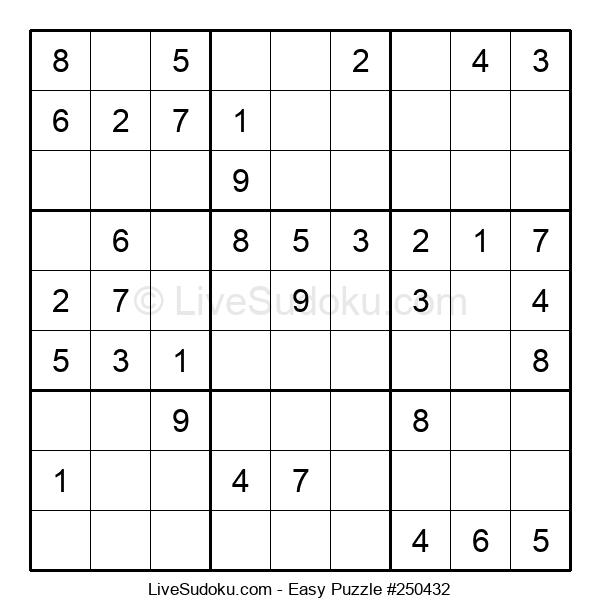 Beginners Puzzle #250432
