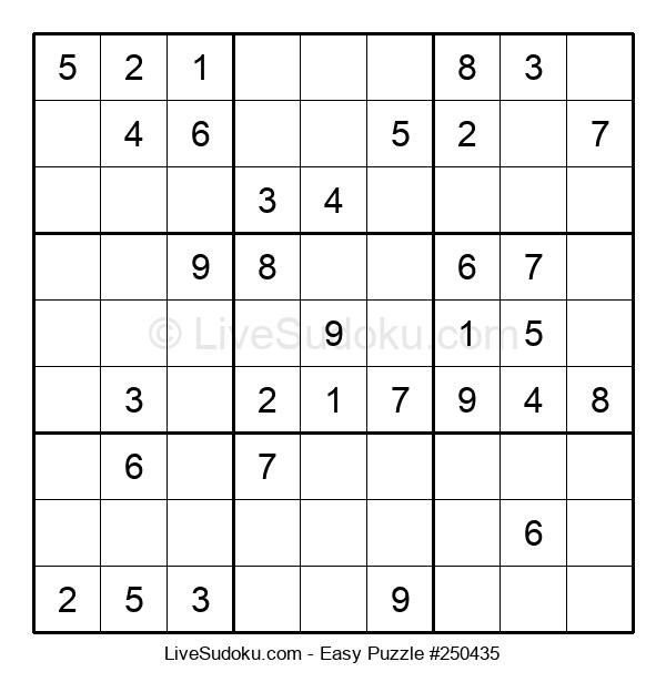 Beginners Puzzle #250435