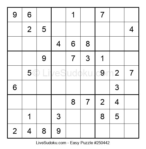 Beginners Puzzle #250442