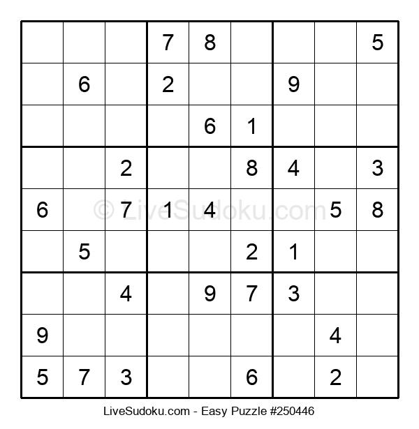 Beginners Puzzle #250446