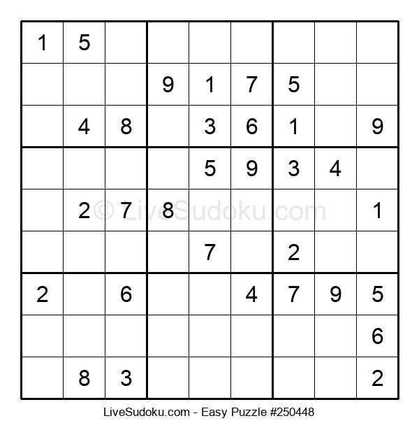Beginners Puzzle #250448