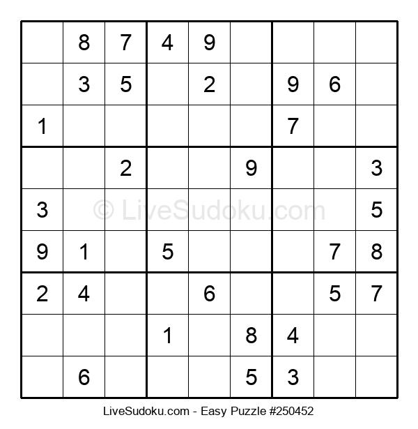 Beginners Puzzle #250452