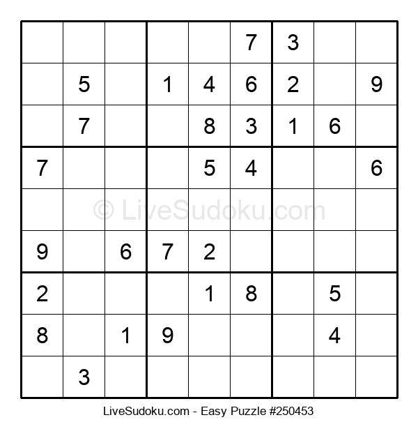 Beginners Puzzle #250453