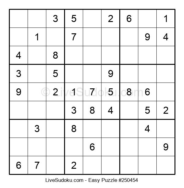 Beginners Puzzle #250454
