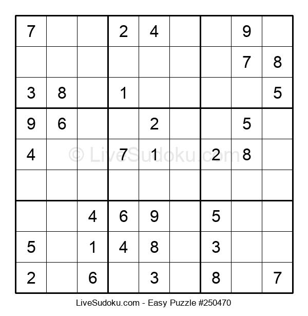 Beginners Puzzle #250470