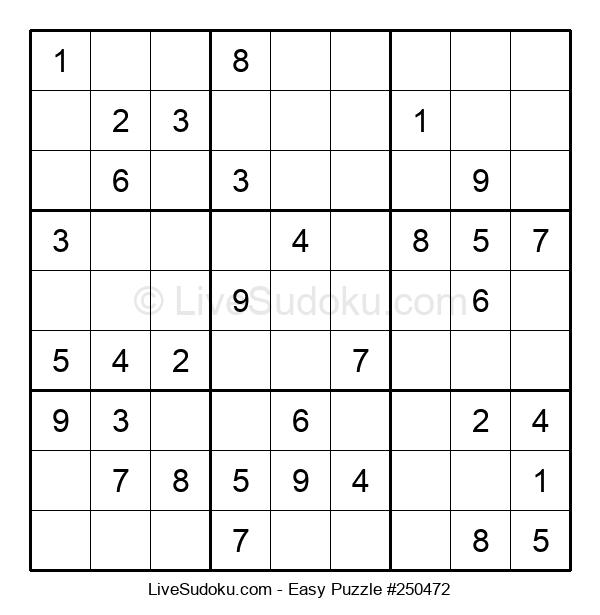 Beginners Puzzle #250472