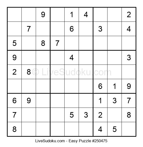 Beginners Puzzle #250475