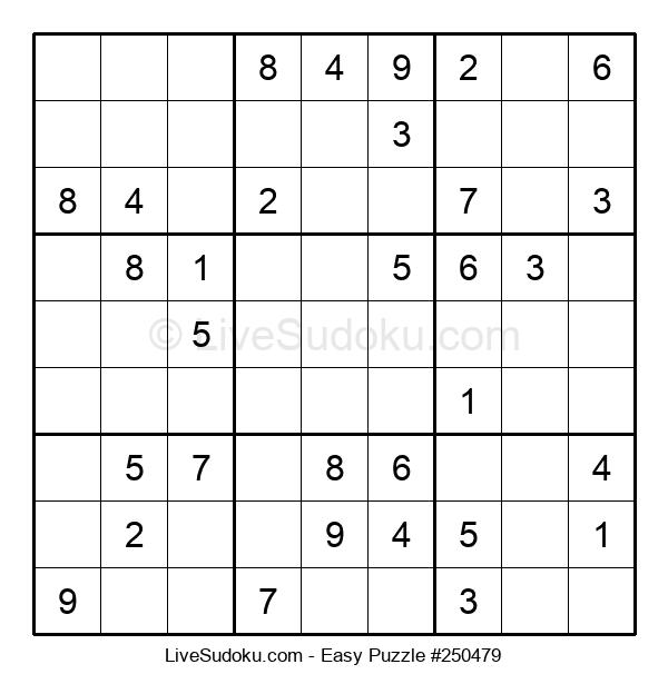 Beginners Puzzle #250479