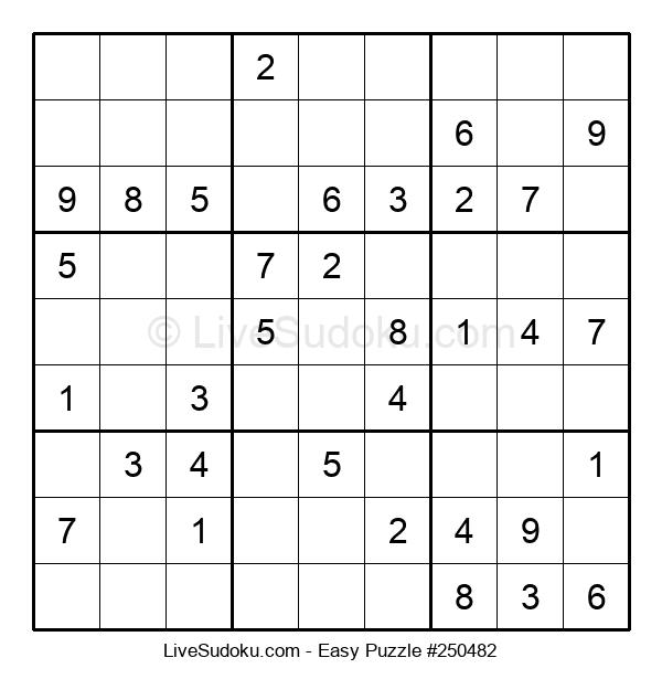 Beginners Puzzle #250482