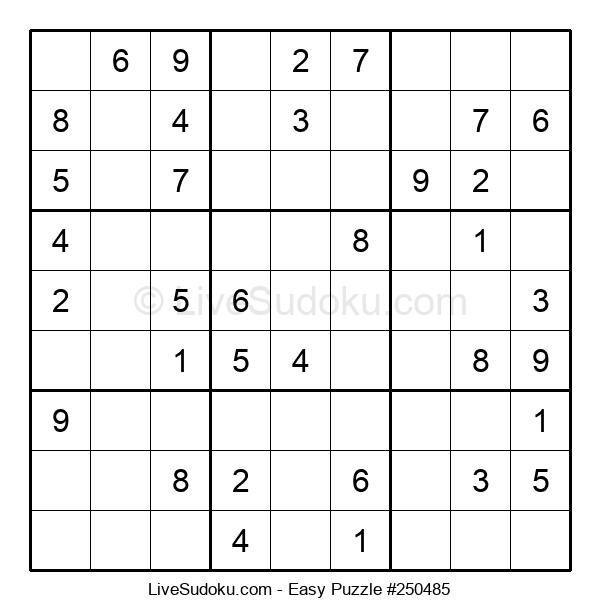 Beginners Puzzle #250485