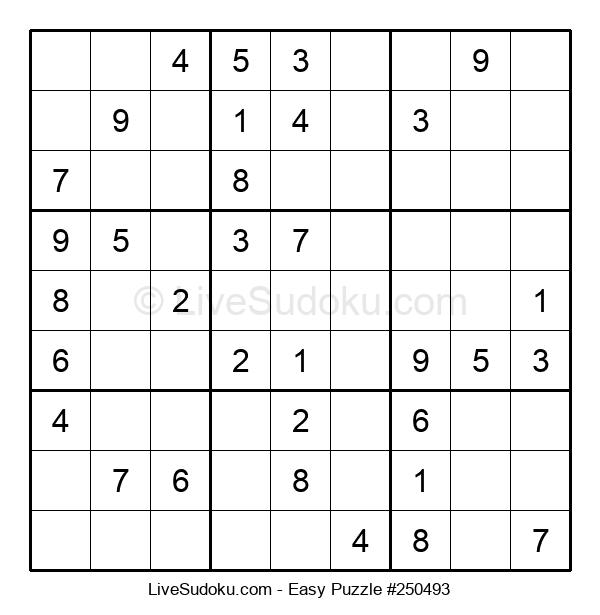 Beginners Puzzle #250493