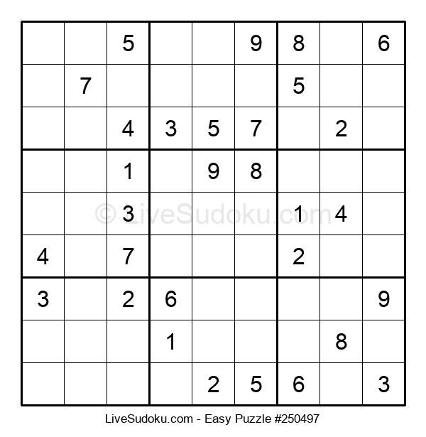 Beginners Puzzle #250497