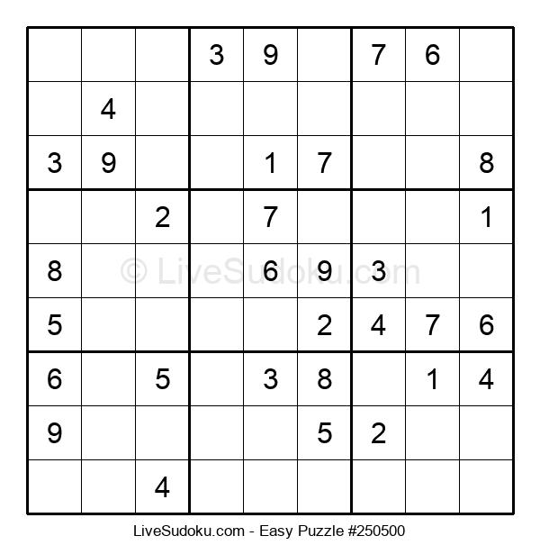 Beginners Puzzle #250500