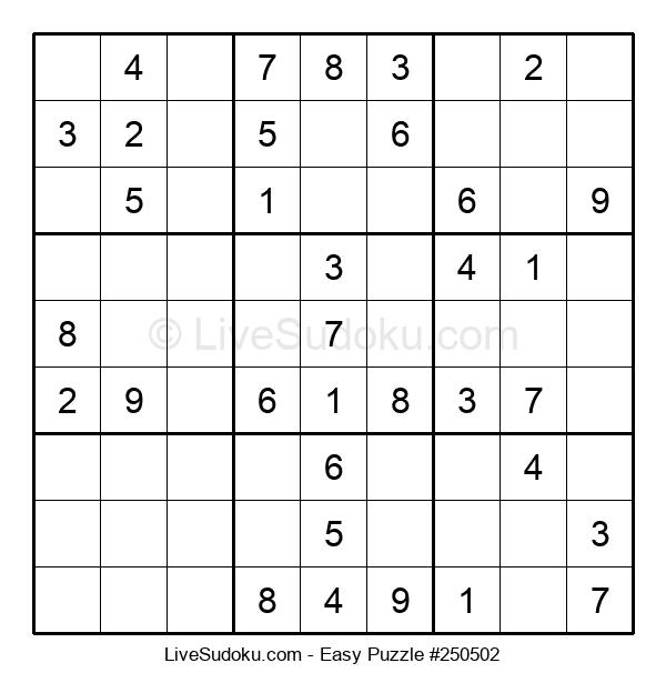 Beginners Puzzle #250502