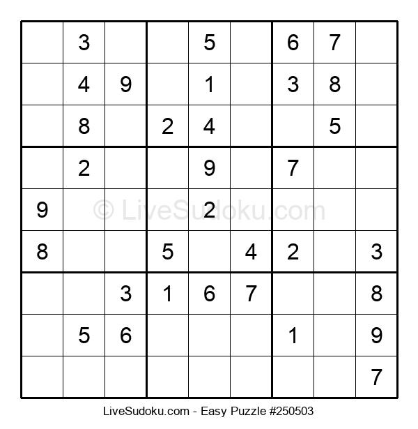 Beginners Puzzle #250503