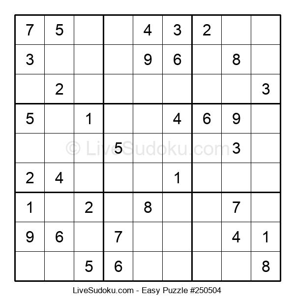 Beginners Puzzle #250504