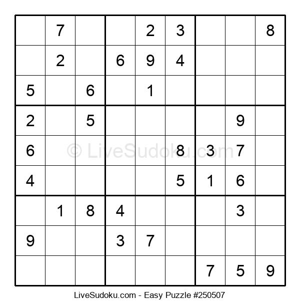 Beginners Puzzle #250507