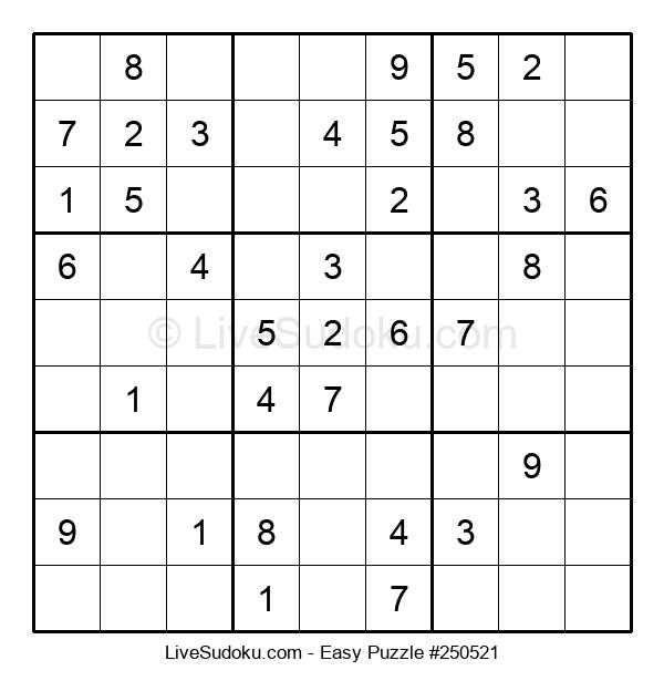 Beginners Puzzle #250521