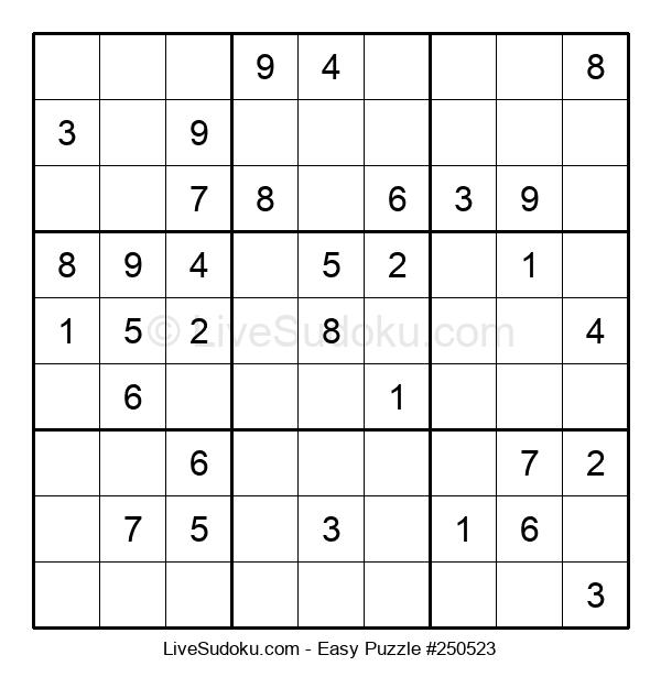 Beginners Puzzle #250523