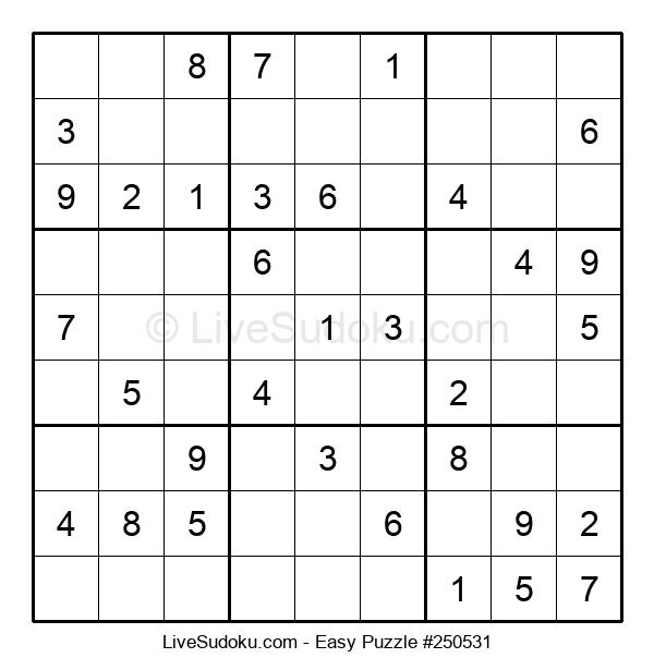Beginners Puzzle #250531