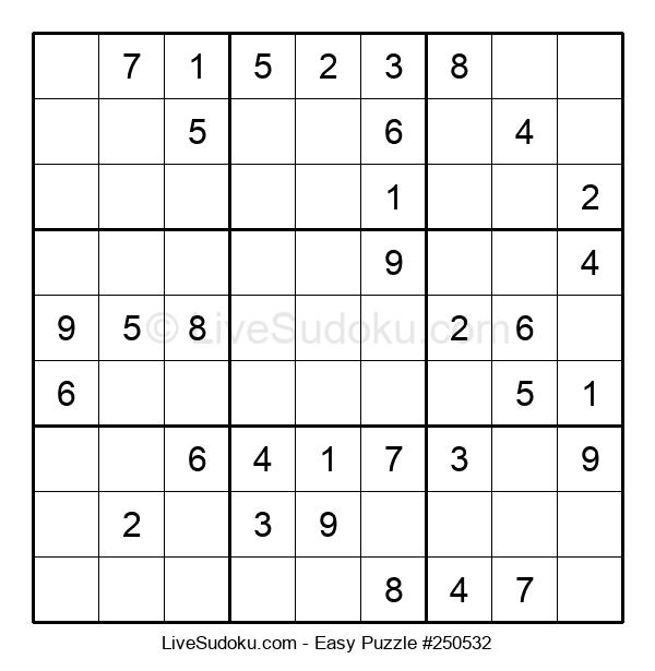 Beginners Puzzle #250532
