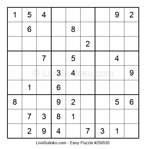 Beginners Puzzle #250535