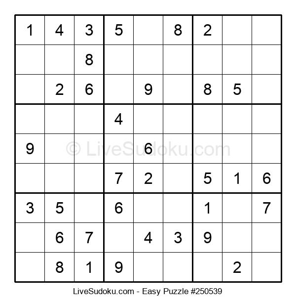 Beginners Puzzle #250539