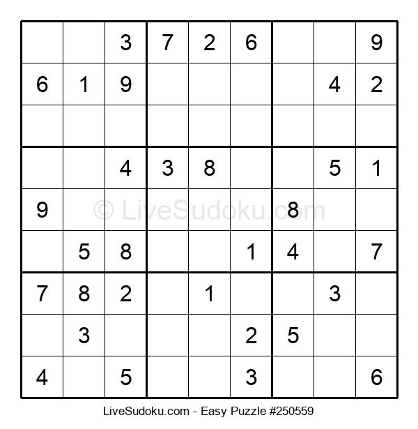 Beginners Puzzle #250559