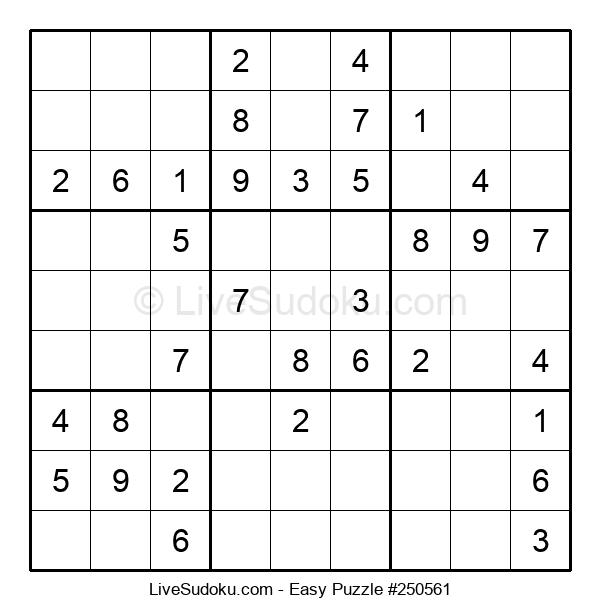 Beginners Puzzle #250561