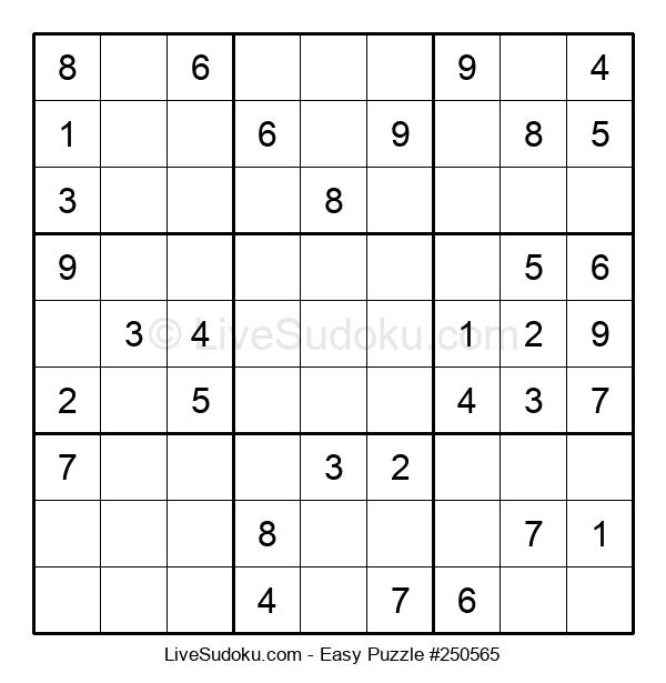 Beginners Puzzle #250565