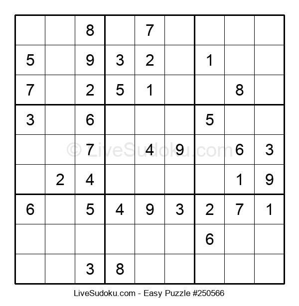 Beginners Puzzle #250566