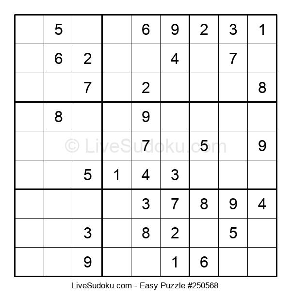 Beginners Puzzle #250568