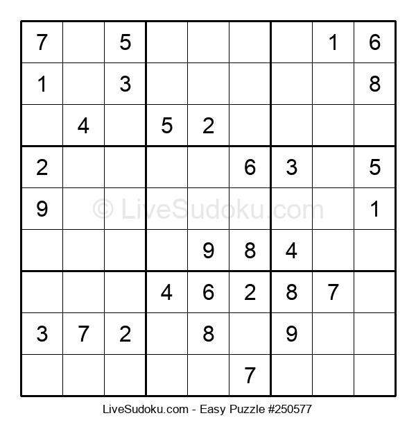 Beginners Puzzle #250577