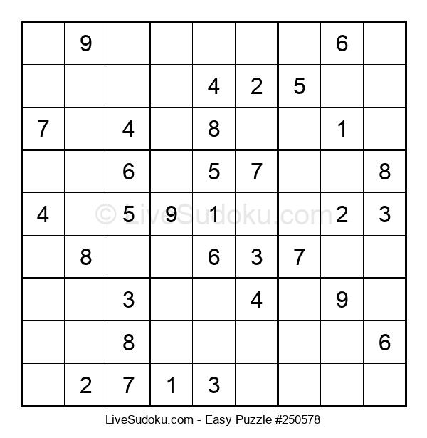 Beginners Puzzle #250578