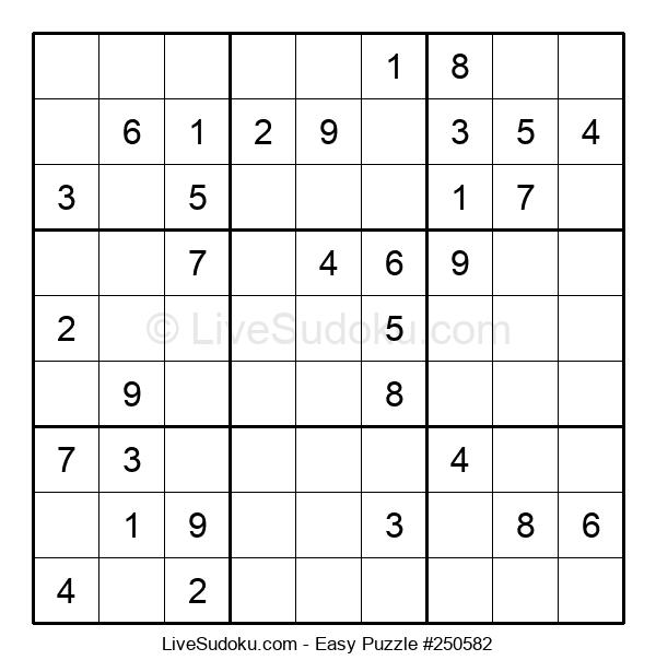 Beginners Puzzle #250582