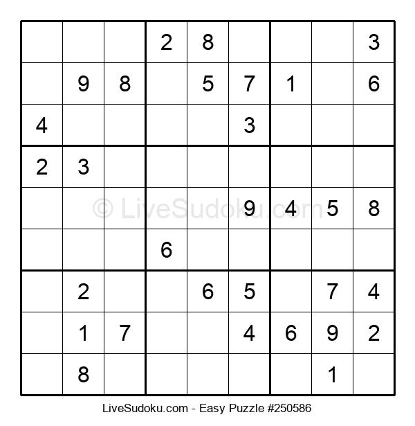Beginners Puzzle #250586