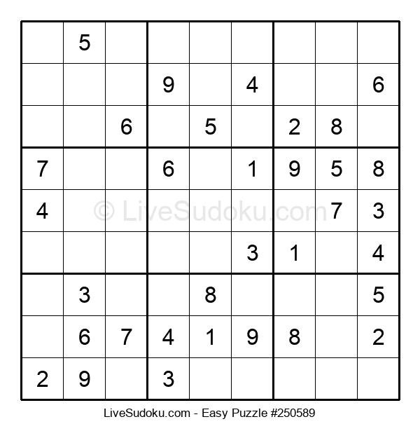 Beginners Puzzle #250589