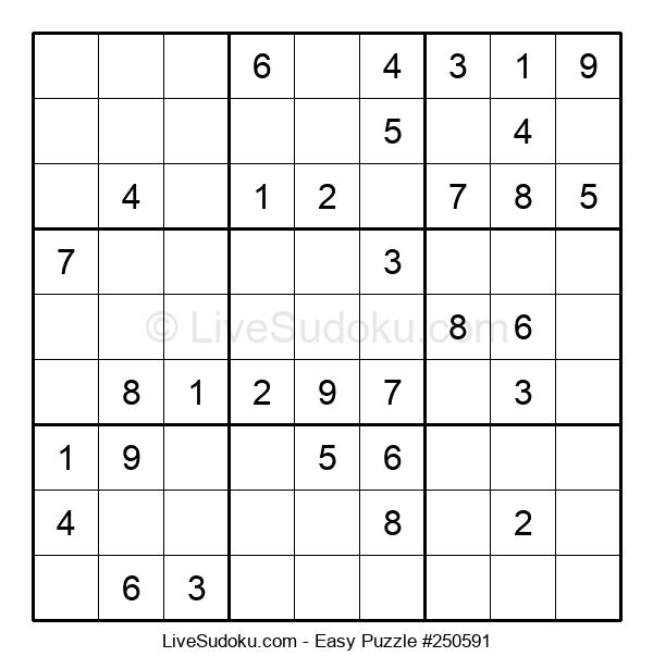 Beginners Puzzle #250591