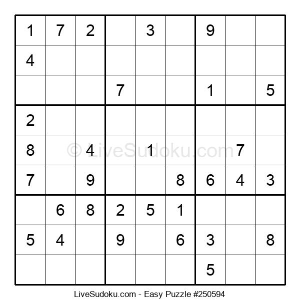 Beginners Puzzle #250594