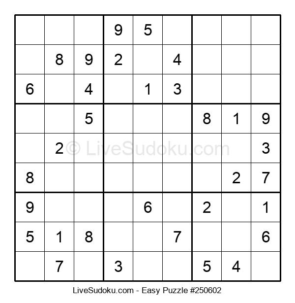 Beginners Puzzle #250602