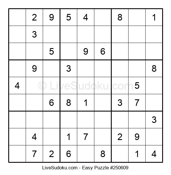 Beginners Puzzle #250609