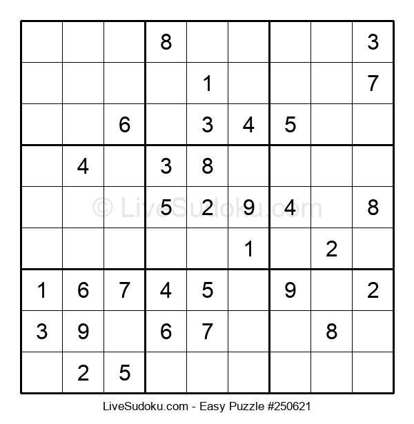 Beginners Puzzle #250621