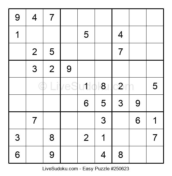 Beginners Puzzle #250623