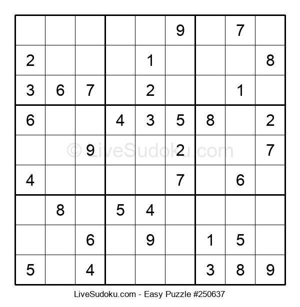 Beginners Puzzle #250637