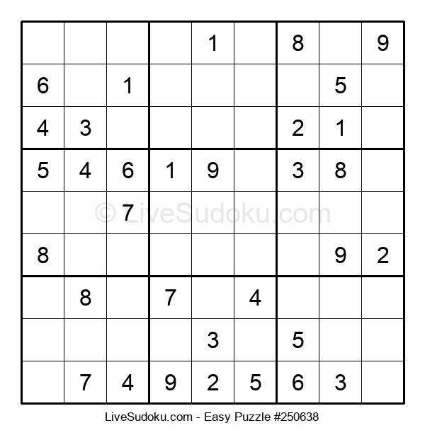 Beginners Puzzle #250638