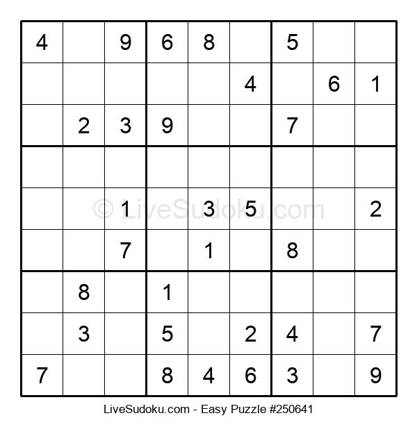 Beginners Puzzle #250641