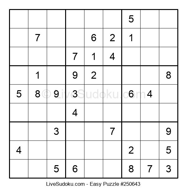 Beginners Puzzle #250643